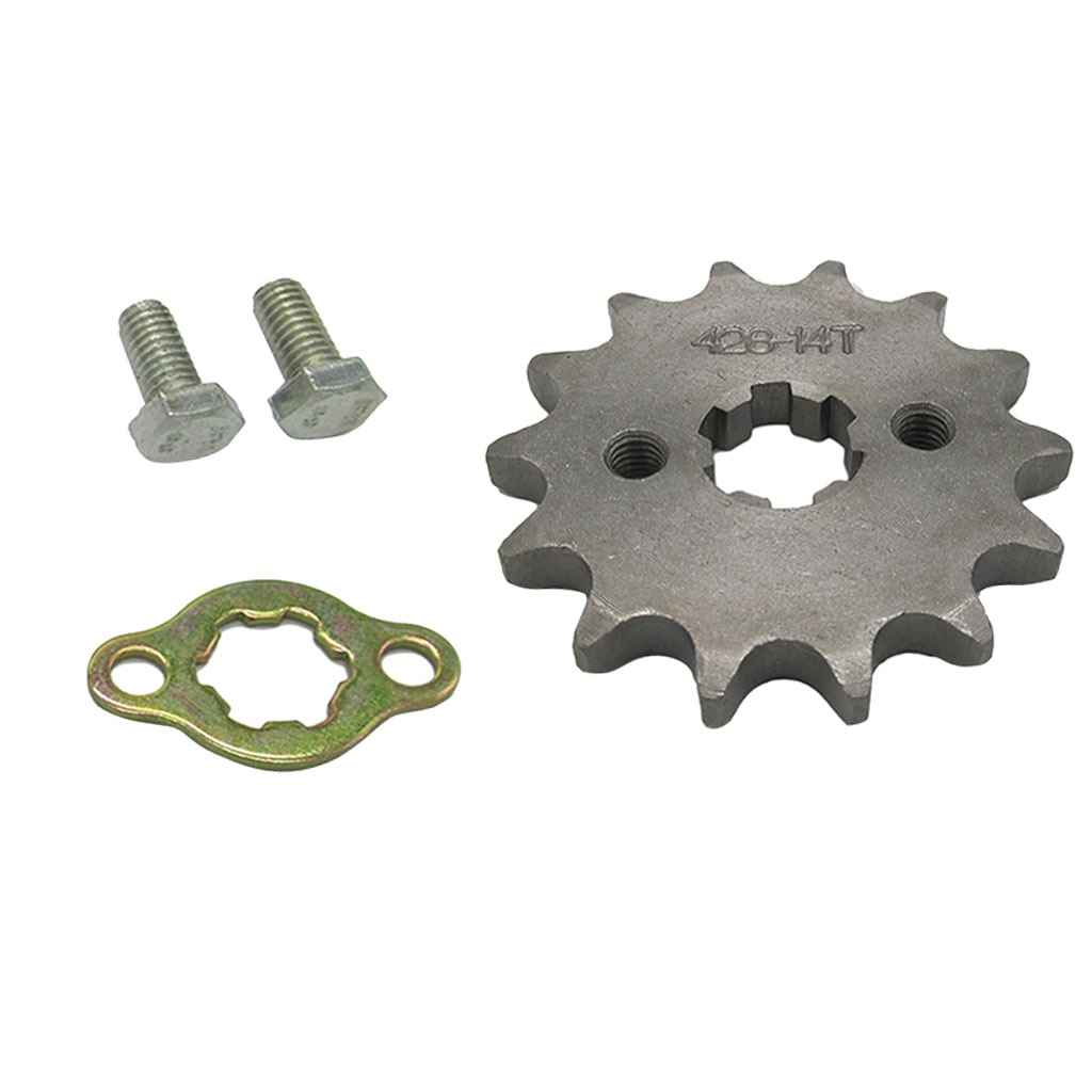 14T Teeth 17mm 428 Chain Front Sprocket Cog For 50/70/90/110/125/150CC ATV