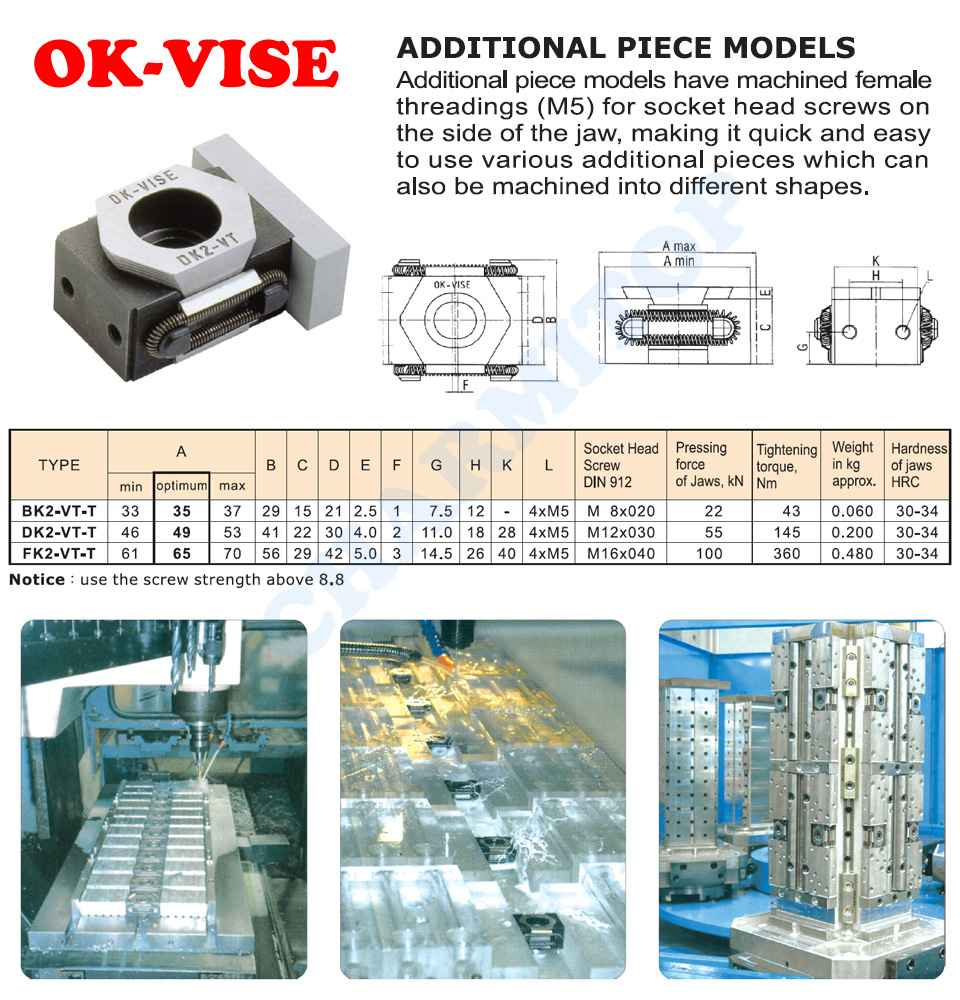 OK VISE-ADDITIONAL