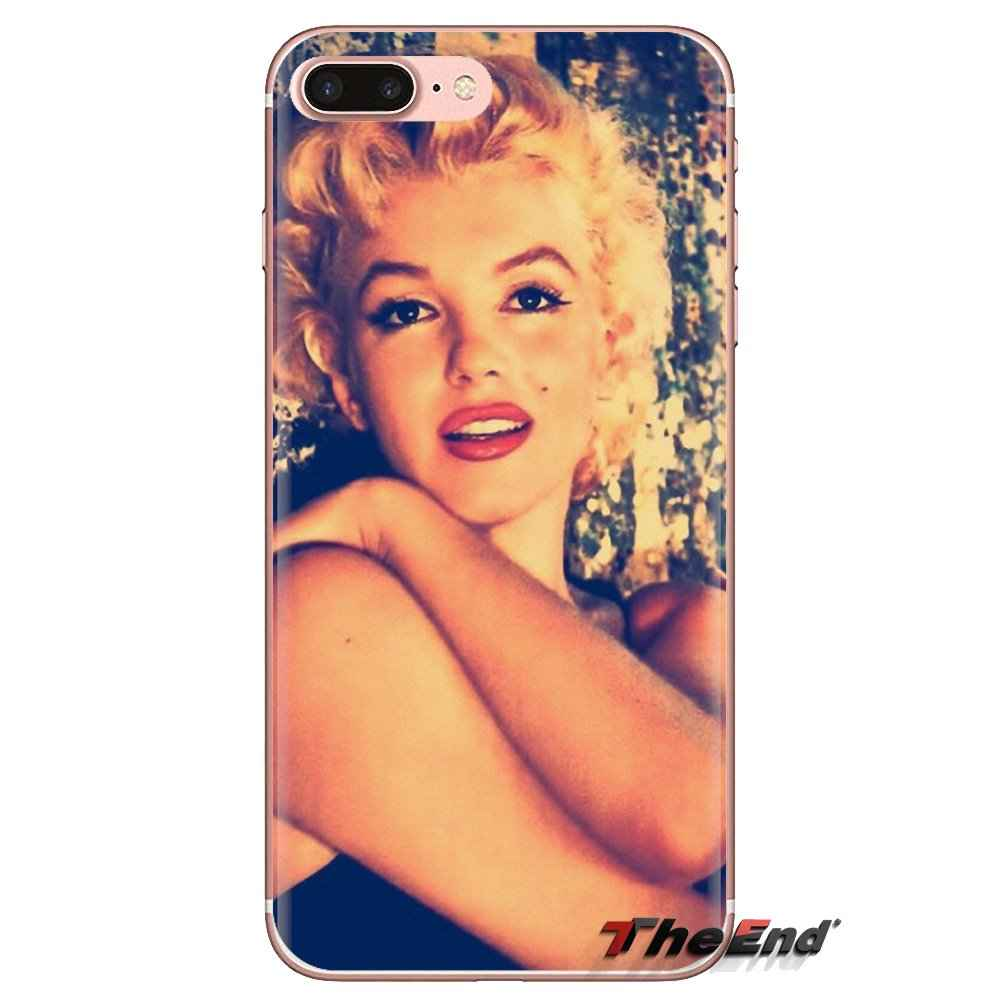 Прозрачный мягкий чехол для iPod Touch Apple iPhone 4 4S 5 5S SE 5C 6 6S 7 8 X XR XS Plus MAX Мэрилин Монро Pinup